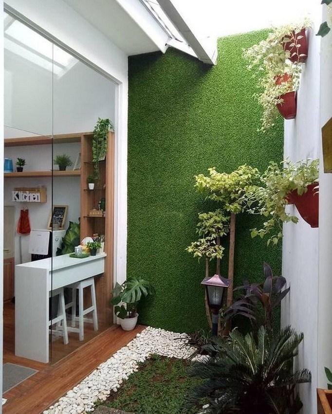 Taman Samping Rumah : taman, samping, rumah, Contoh, Desain, Taman, Minimalis, Lahan, Sempit!, Rumah123.com