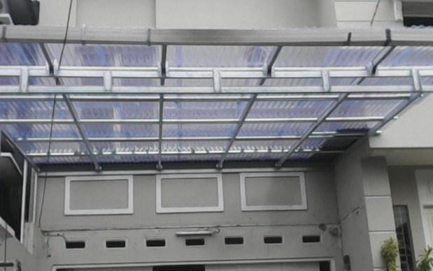 material atap transparan