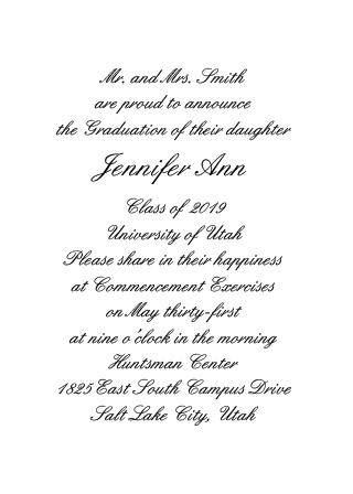 2017 Graduation Announcements & Invitations For High