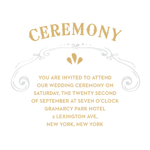 Cheerful Celebrations RSVP Cards by Basic Invite