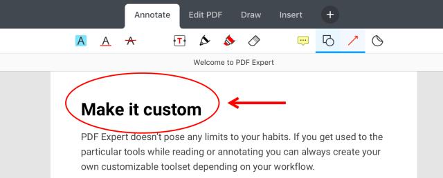 PDF auf dem iPad kommentieren  Mit dem Apple Pencil schreiben