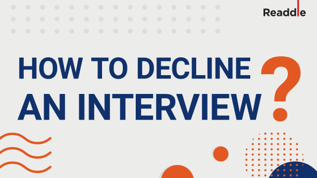 How to Decline an Interview  Sample Cancellation Email