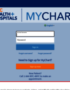 Epicmychart nychhc also welcome to mychart application error page rh data danetsoft