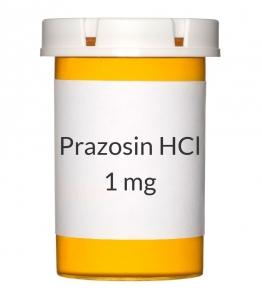 Prazosin HCl 1 mg Capsules
