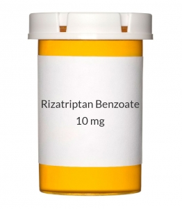 Rizatriptan Benzoate 10 mg Tablets (Generic Maxalt)
