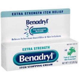 Buy Benadryl Cream Extra Strength 1oz - HealthWarehouse.com