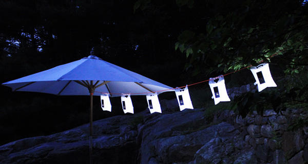 Inflatable Solar Powered Lanterns For Camping