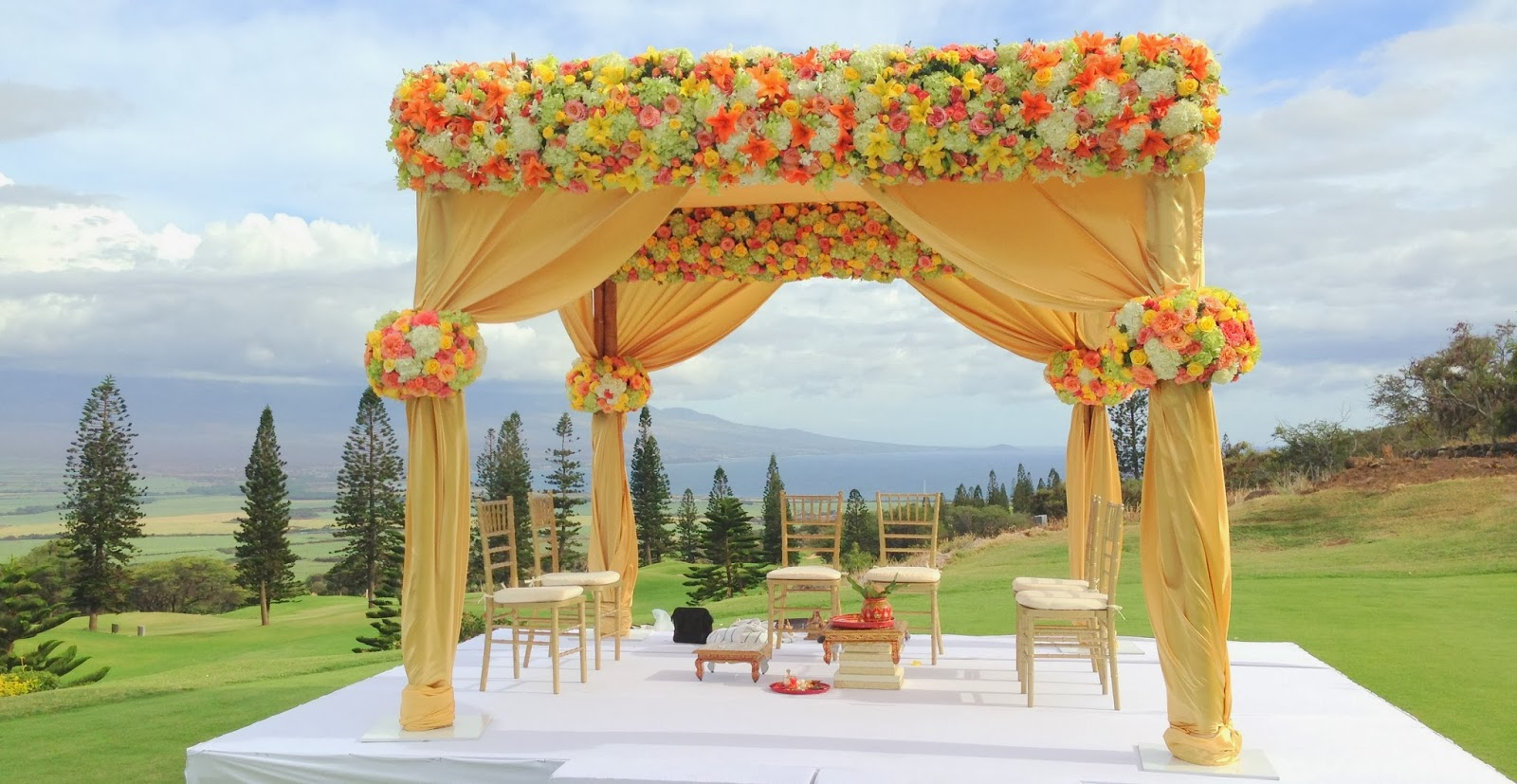 Fabulous Hindu Indian Wedding In Maui October 2013 Indian Weddings In Hawaii