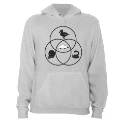 Platypus Venn Diagram Tibia And Fibula Blank T Shirt Snorgtees