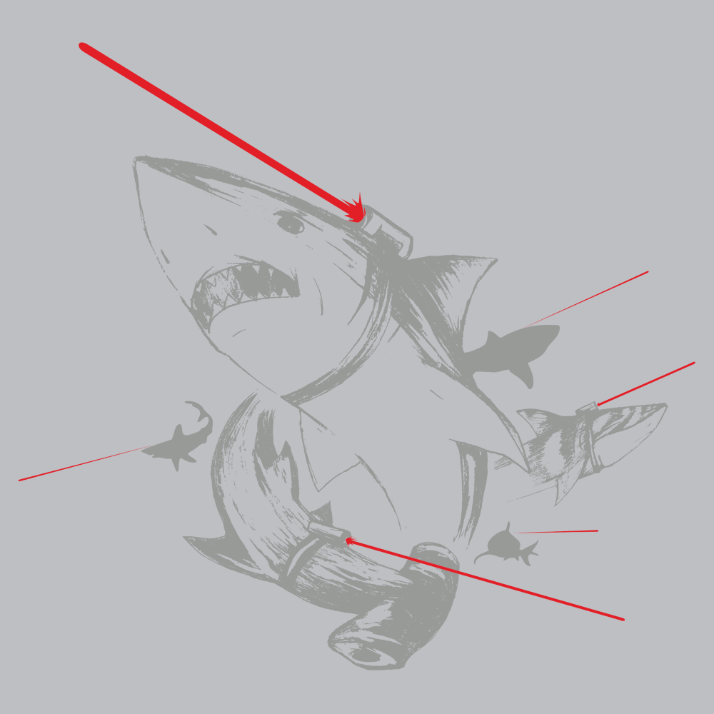 sharks with lasers t
