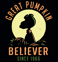great pumpkin believer [ 1000 x 1000 Pixel ]