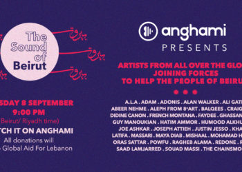 """The Sound of Beirut"" fundraiser on Anghami"