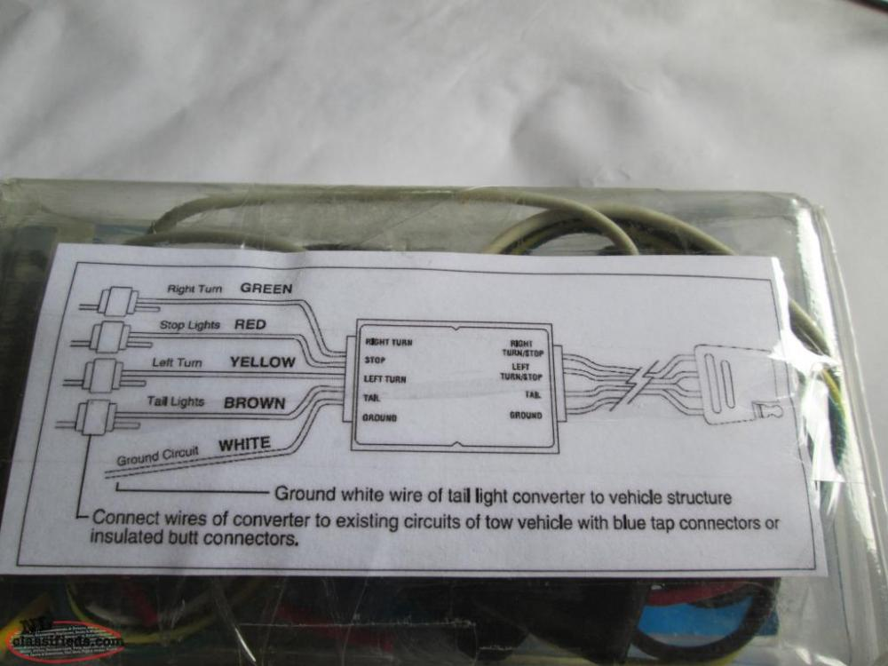 medium resolution of  new towpower reese trailer tail light converter