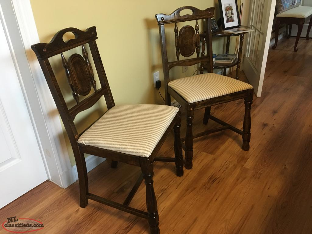 Refurbished Chairs 2 Refurbished Antique Chairs Grand Falls Windsor Newfoundland