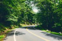 Curves Along Seven Lakes Drive New York - EatSleepRIDE