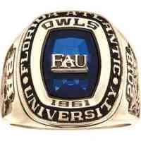 Florida Atlantic University Men's Legend Ring