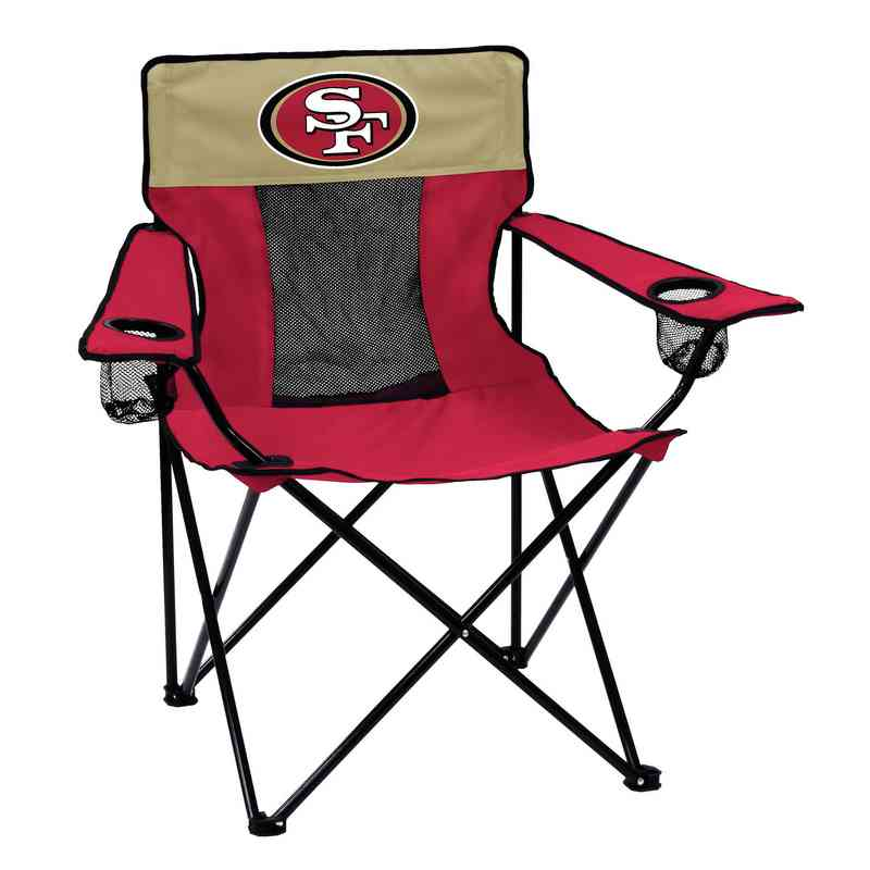 49ers camping chair banquet style chairs san francisco pro tailgate outdoor folding
