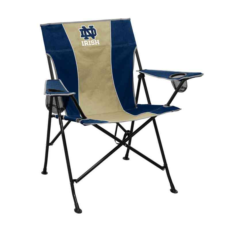 notre dame chair antique upholstered rocking styles fighting irish tailgate 190 10p pregame