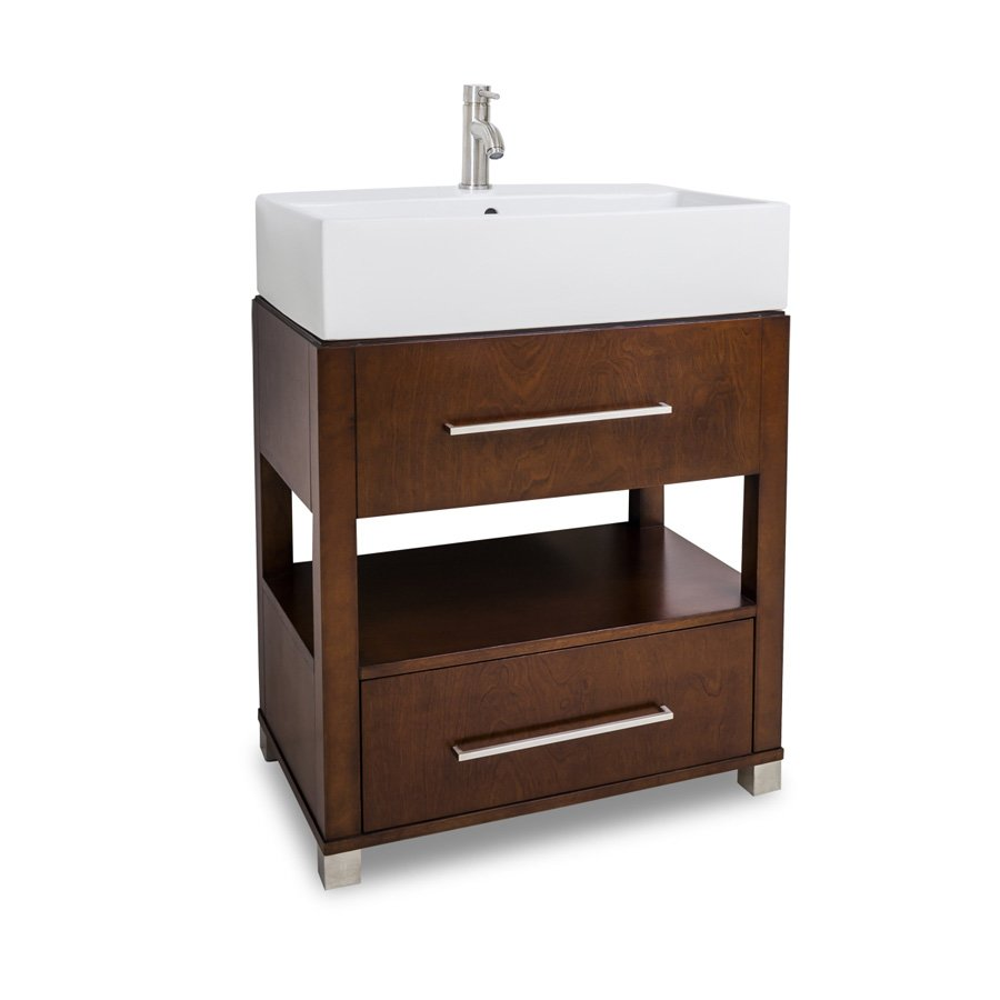 Jeffrey Alexander 28 Wells Vessel Sink Bathroom Vanity Chocolate Van095 T J Keats