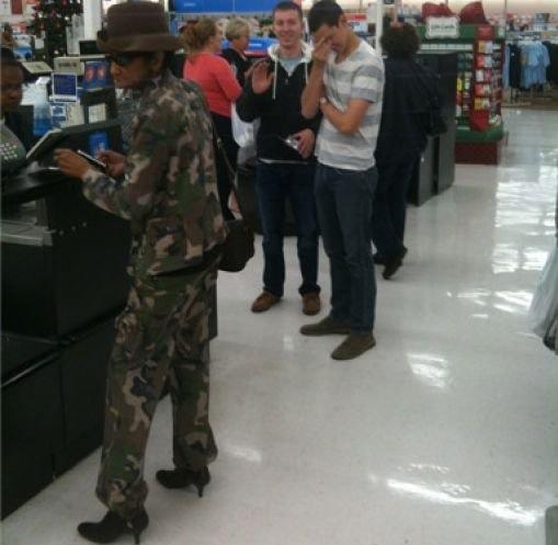 Camo Army Fatigues and High Heel Shoes at Walmart  Walmart  Faxo