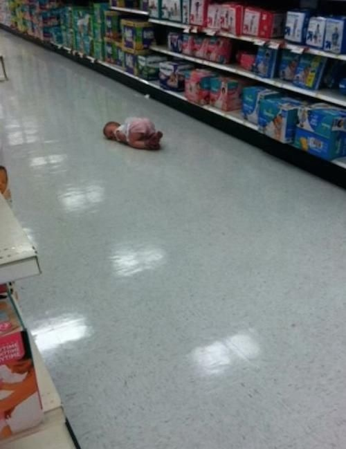 Lost Baby Last Seen in Walmart Parenting Fail  Walmart  Faxo