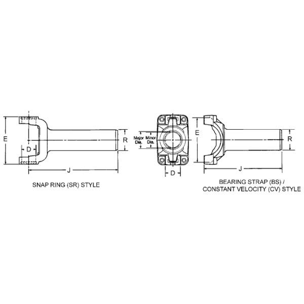 Automotive Universal Joints & Parts Replacement Parts