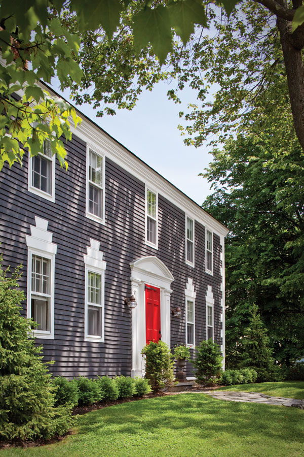 Classic Colonial Comfort Maine Home Design