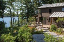 Maine Lake House Design