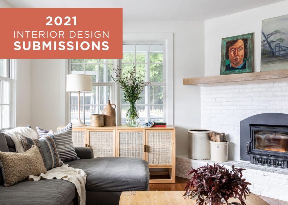 2021 Interior Design Submissions - Maine Home + Design