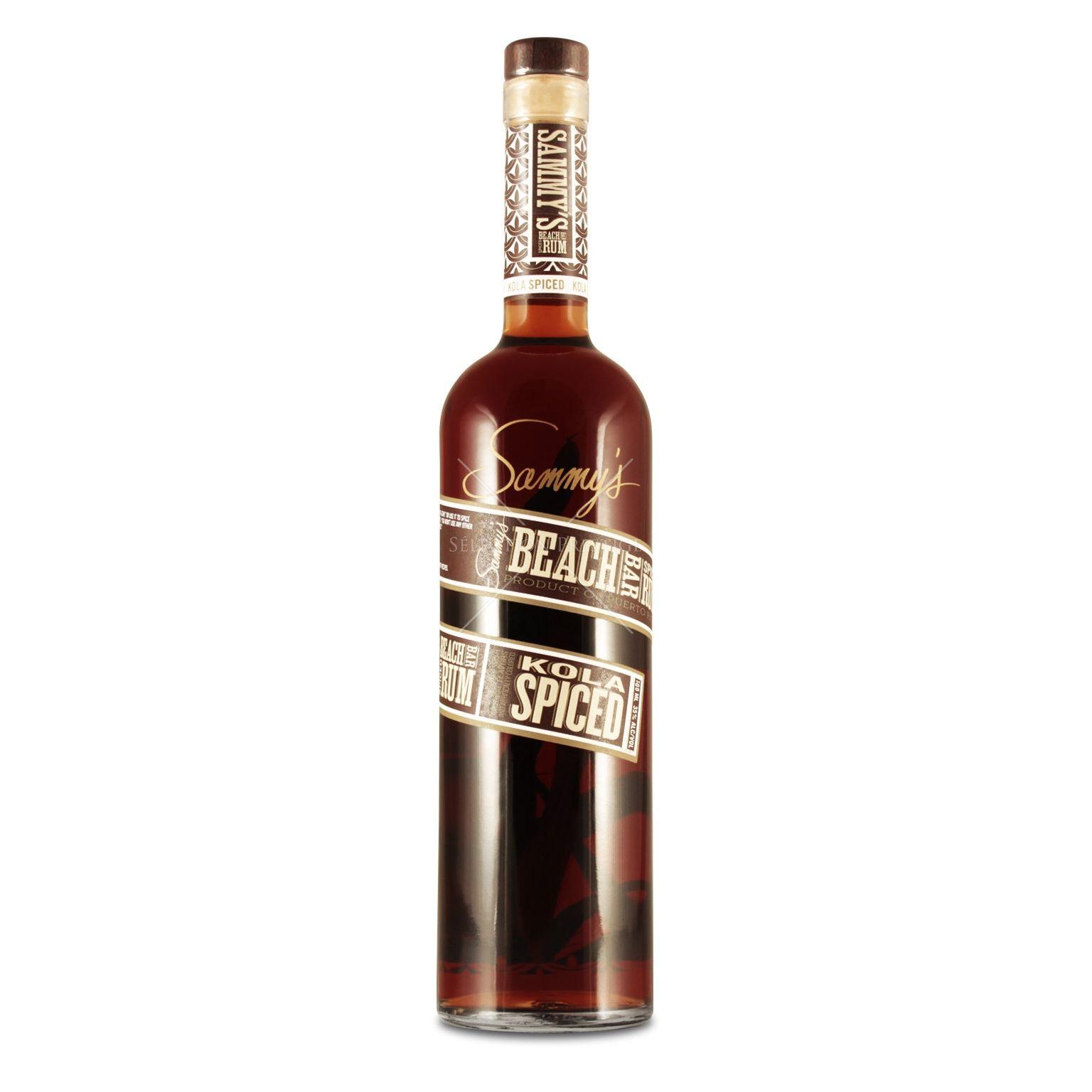 sammy s beach bar rum kola spiced 0 7l 35 vol