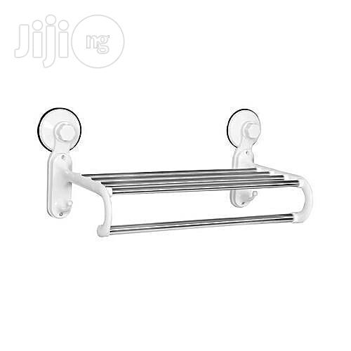 Archive Bathroom Towel Hanger With Rail Shelf Rack In Gwagwalada Home Accessories Princess Taiwo Adedoyin Jiji Ng For Sale In Gwagwalada Buy Home Accessories From Princess Taiwo Adedoyin On Jiji Ng