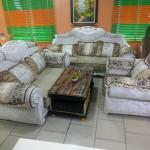 Leather And Fabric Living Room Sofa Chair Seven Seater In Ikeja Furniture Sombest Funiture Ltd Stanley Jiji Ng