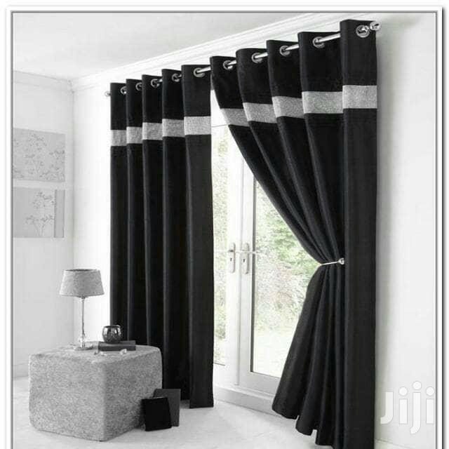 Blackout Curtain Black Living Room In Yaba Home Accessories Blessedvitus Home And Interior Bedsheet Duvet Curtain Blind Wallpaper Jiji Ng For Sale In Yaba Buy Home Accessories From Blessedvitus Home