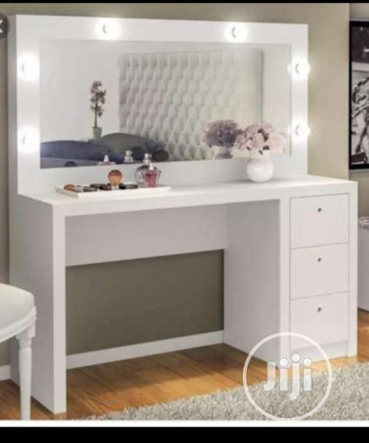 A Brand New White Dressing Table And Mirror With Drawers In Lagos State Furniture D 39 Favour Furniture Company Jiji Ng For Sale In Lagos Buy Furniture From D 39 Favour Furniture Company On