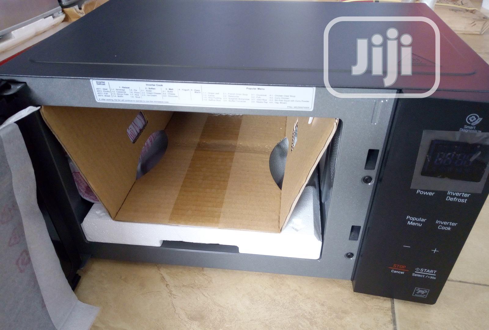lg smart inverter microwave oven ms2535gis