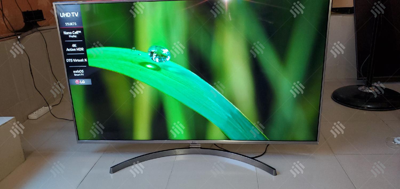 LG Smart Flat Uhd Hdr Ultra 4K TV 55