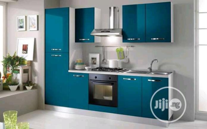 Simple Kitchen Cabinet Design With Mdf Board In Gwarinpa Furniture Warrant Coker Jiji Ng