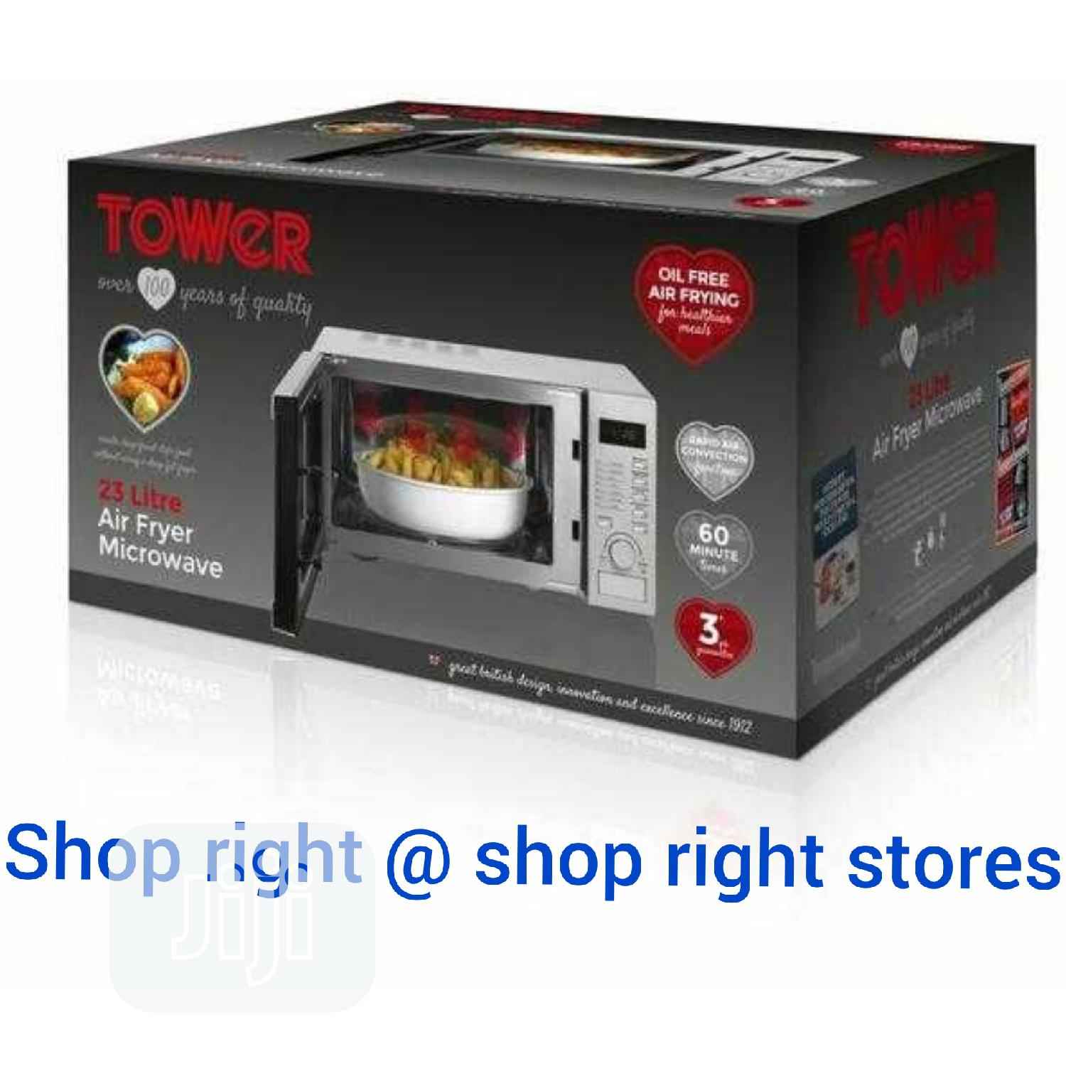 tower air fryer conventional grill microwave oven