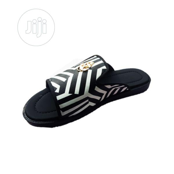 Men S Black And White Design Cover Slippers Multi Color In Agege Shoes Oyekan Olaiya Jiji Ng For Sale In Agege Buy Shoes From Oyekan Olaiya On Jiji Ng