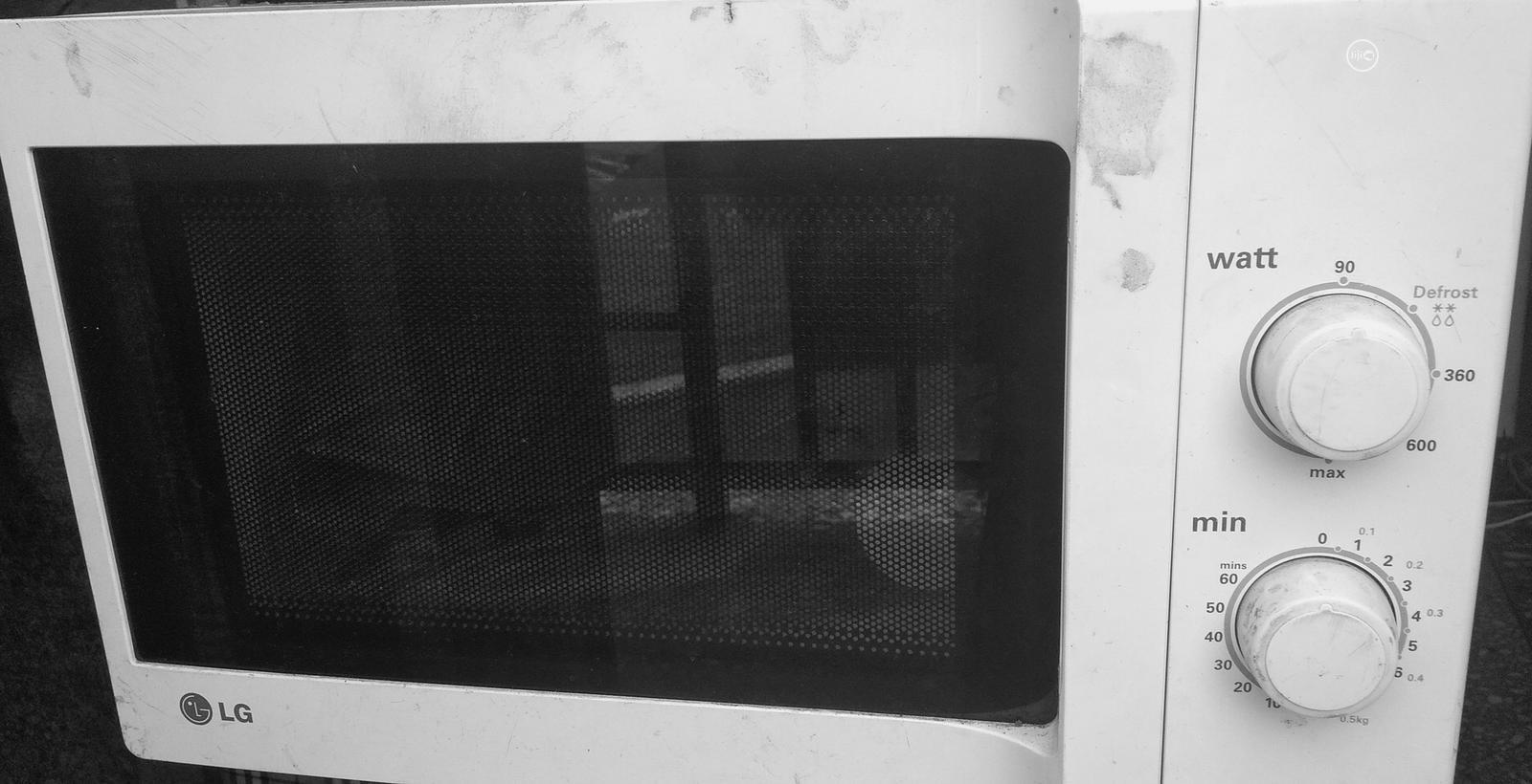 lg microwave white