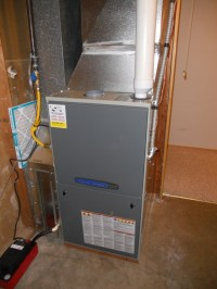 Lennox to American Standard 95% 2 stage Variable Speed ...