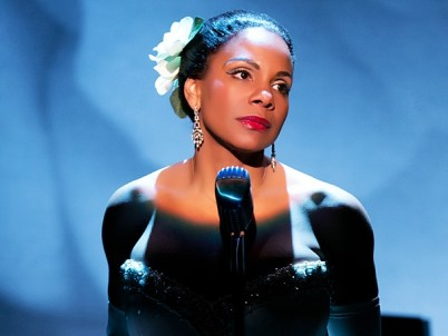 Audra McDonald in her Tony-winning role as Billie Holiday in
