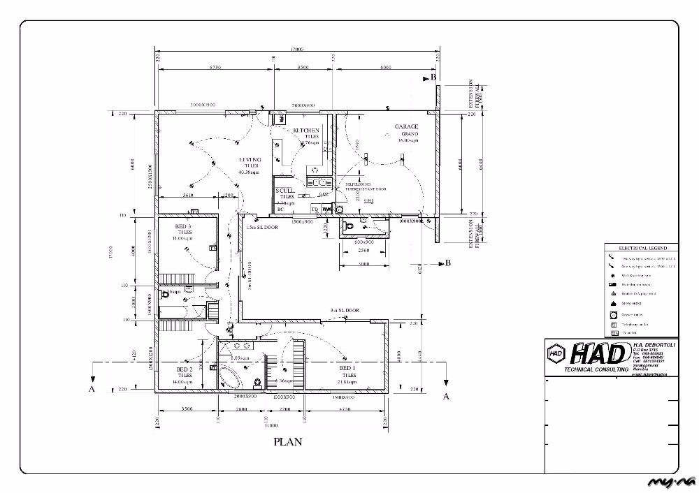 Ext 19, Swakopmund, 3 Bedroom house, Plot & Plan, only N$2