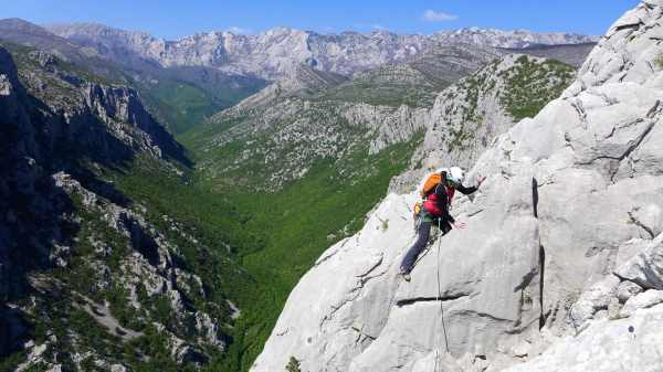 Rock Climbing In Paklenica Croatia. 5-day Trip. Certified Leader