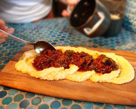 Polenta Board  Cucina Enoteca  ChefsFeed