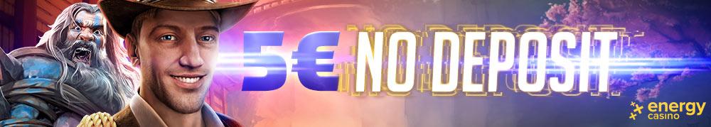 5 EUR No Deposit - EN - Banner - 1000x179