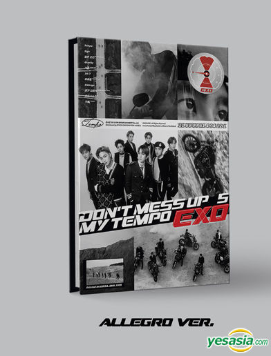 Exo Don't Mess Up My Tempo : don't, tempo, YESASIA:, DON'T, TEMPO, (Allegro, Version), Entertainment, Korean, Music, Shipping