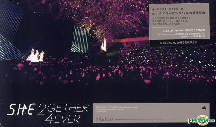 YESASIA: S.H.E 2gether 4ever演唱會影音館 (Blu-ray + バックステージ実録DVD) (Blu-ray豪華限定版) Blu-ray - S.H.E (エス ...