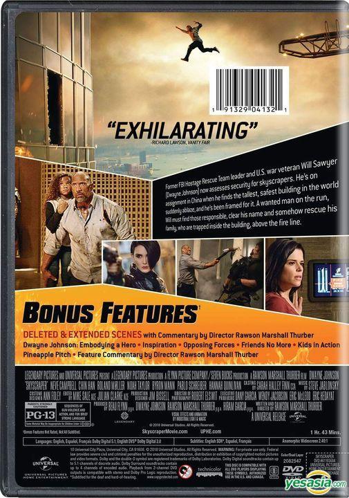 YESASIA : 高兇浩劫 (2018) (DVD) (美國版) DVD - 戴雲莊臣, 金寶 莉芙, Universal Studios Home Video - 西方世界影畫 - 郵費全免