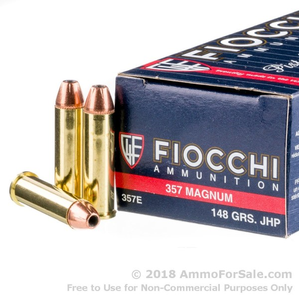 Rounds Of 148gr Jhp .357 Mag Ammo